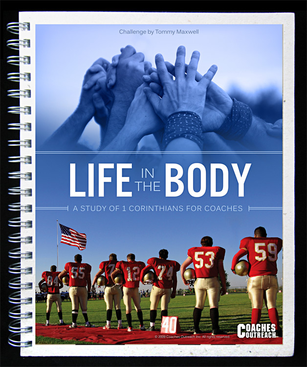 A screenshot of the Coaches Outreach Playbook cover
